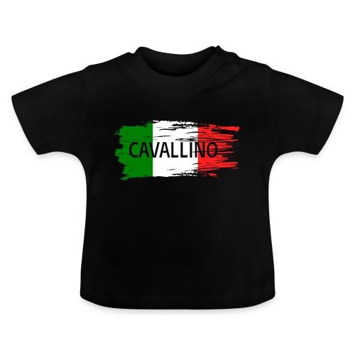 Cavallino auf Flagge - Baby T-Shirt
