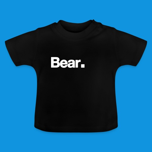 Bear. Retro Bag - Baby T-Shirt