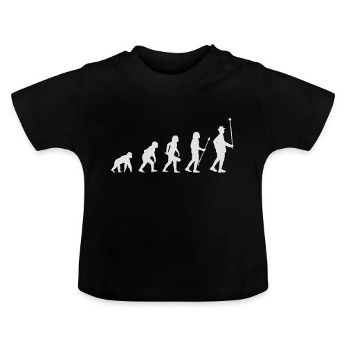 Evolution Stabführer weiß - Baby T-Shirt