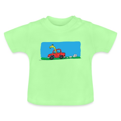 La girafe conductrice - T-shirt Bébé