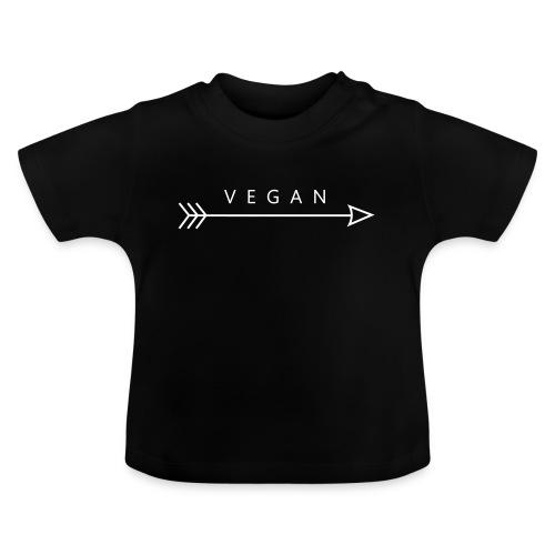 Vegan - pil - Baby-T-shirt