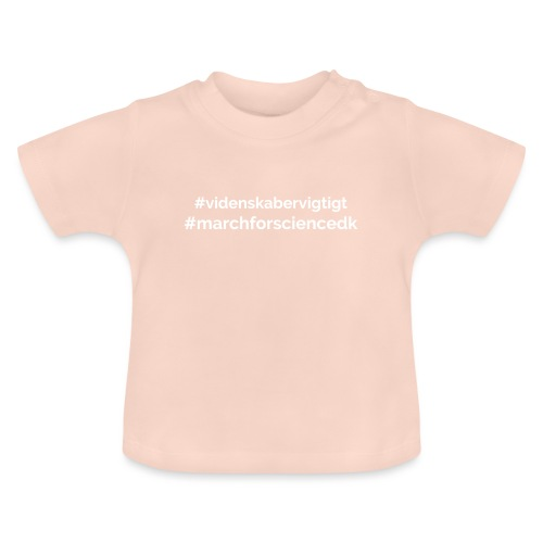 March for Science Danmark - Baby T-Shirt