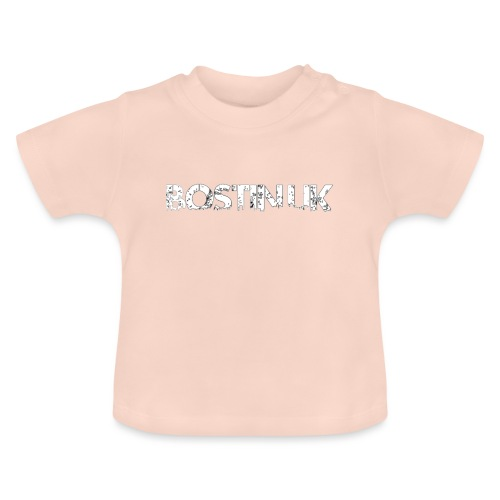 bostin uk white - Baby T-Shirt