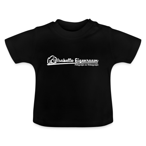 Isabelle Eigenraam Fotografie Videografie wit - Baby T-shirt