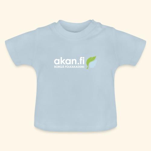 Akan White - Vauvan t-paita