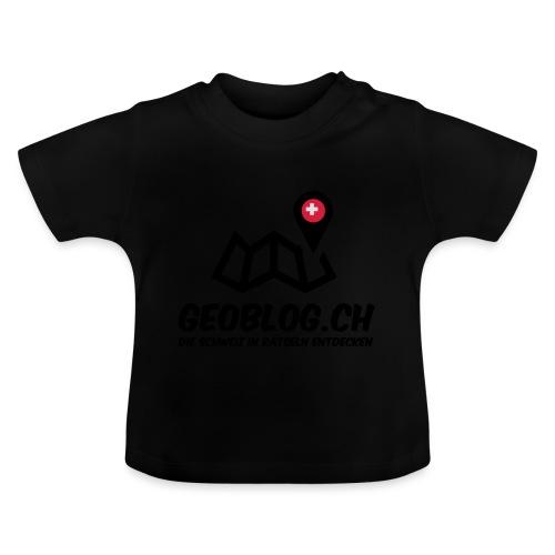 Logo+Schriftzug-hoch - Baby T-Shirt