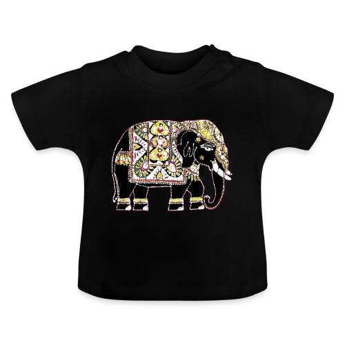 Indian elephant for luck - Baby T-Shirt