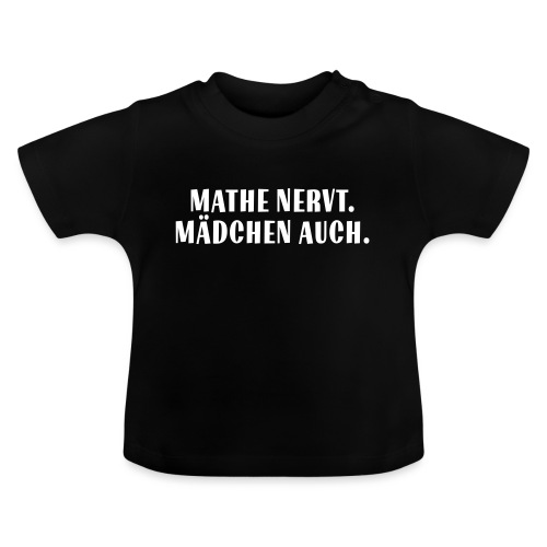 Mathe_Vektor - Baby T-Shirt