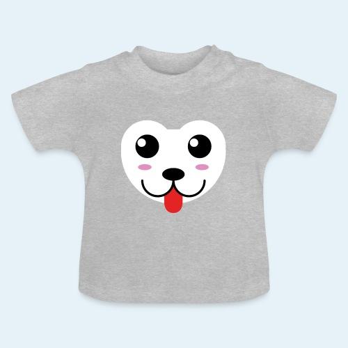 Husky perro bebé (baby husky dog) - Camiseta bebé