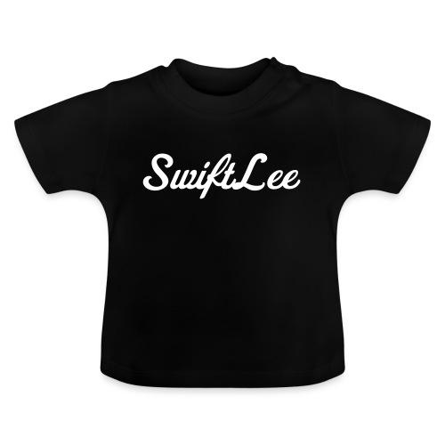 SwiftLee Logo White - Baby T-shirt