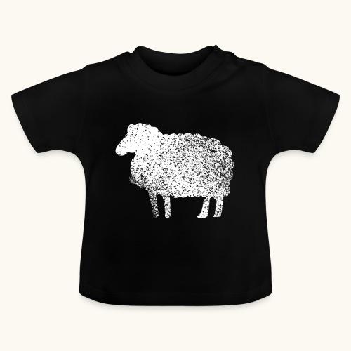 Lustiges Schaf Silhouette Grunge Geschenk Schäfer - T-shirt Bébé