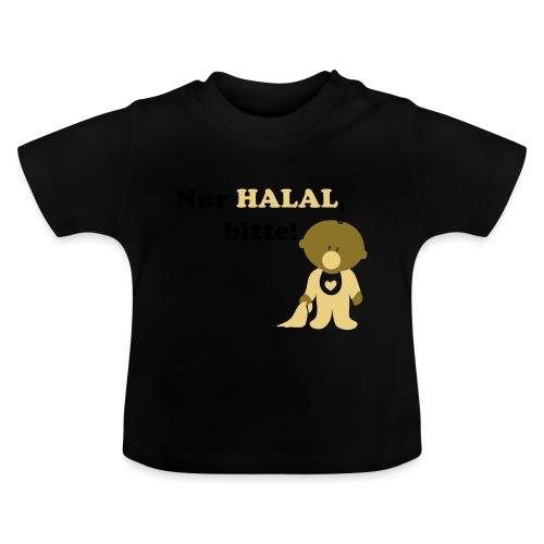 Nur Halal, bitte! Babylätzchen (männlich) - Baby T-Shirt