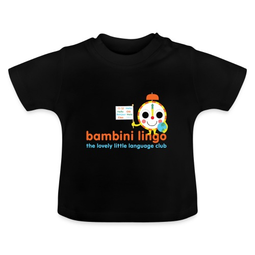bambini lingo - the lovely little language club - Baby T-Shirt
