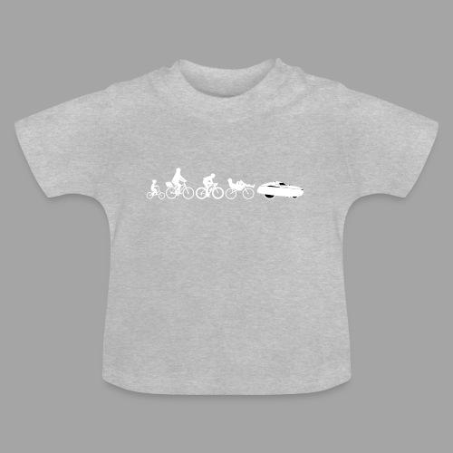 Bicycle evolution white - Vauvan t-paita
