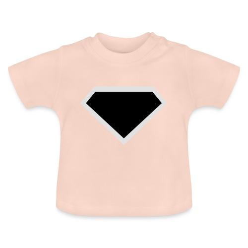 Diamond Black - Two colors customizable - Baby T-shirt