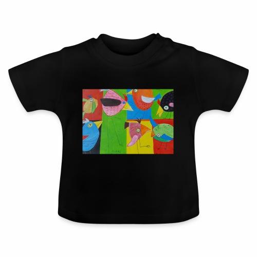 Lovebirds - Liebesvögel - Baby T-Shirt