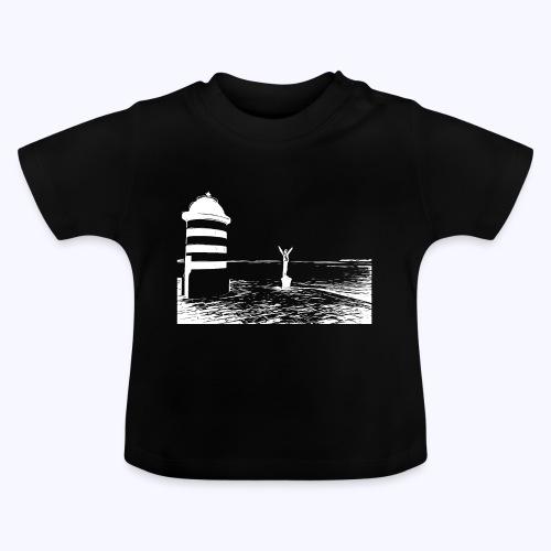 Leuchtturm weiss - Baby T-Shirt