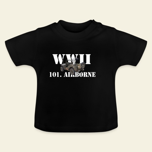 101 airborne png - Baby T-shirt