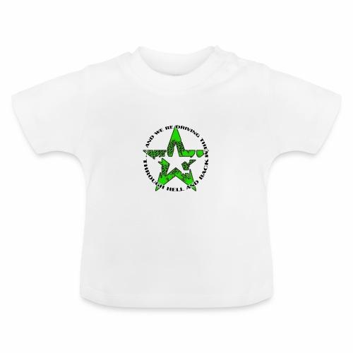 ra star slogan slime png - Baby T-Shirt