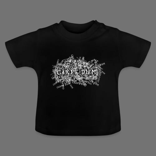 carpe diem (valkoinen) - Vauvan t-paita