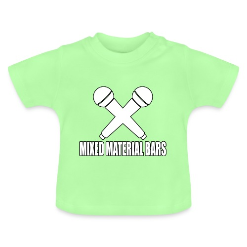 MIXED MATERIAL BARS - Baby T-Shirt