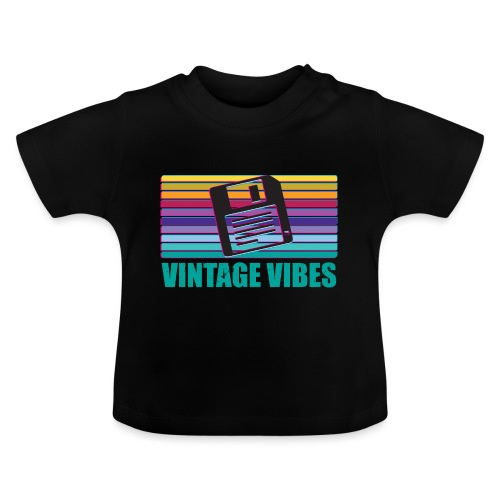 Floppy Disk magnetischer Datenträger - Baby T-Shirt