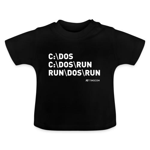 Run DOS Run - Baby T-shirt