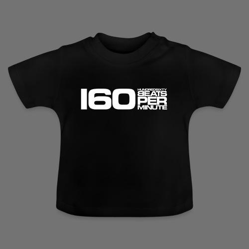 160 BPM (białe długie) - Koszulka niemowlęca