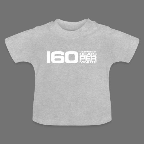 160 BPM (valkoinen pitkä) - Vauvan t-paita