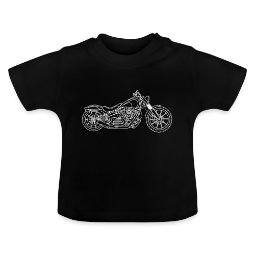 Stijlvolle moto - T-shirt Bébé