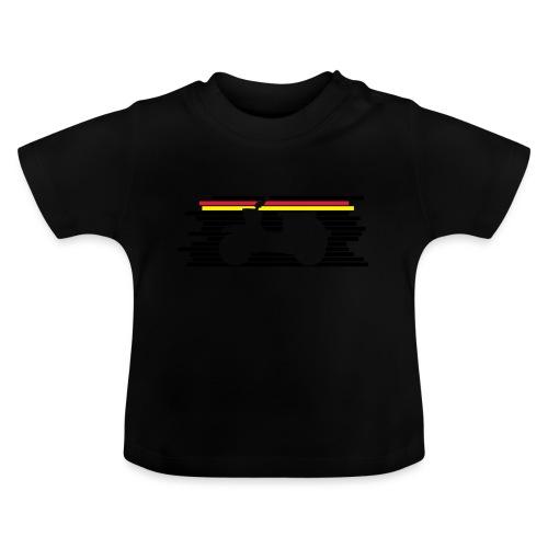 schwalbe streifen negativ - Baby T-Shirt