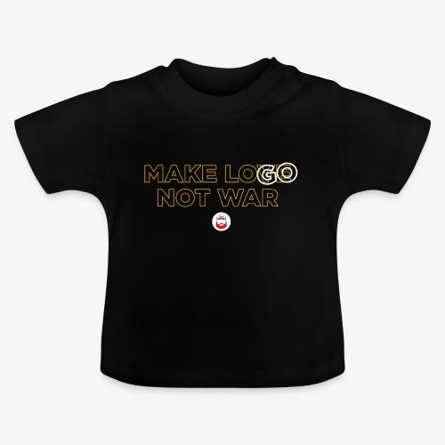 Make LOGO not WAR - Maglietta per neonato