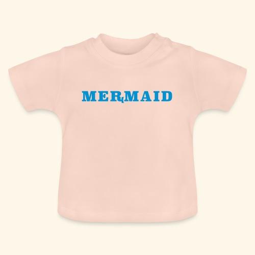 Mermaid logo - Baby-T-shirt