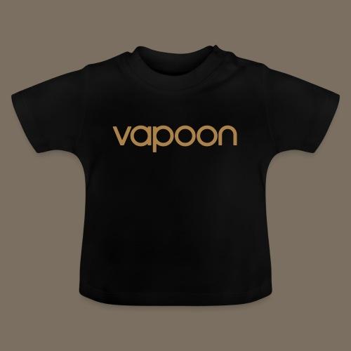Vapoon Logo simpel 01 - Baby T-Shirt