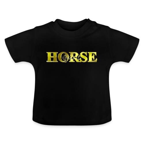 Horsegirl Reiten Pferde Geschenk - Baby T-Shirt