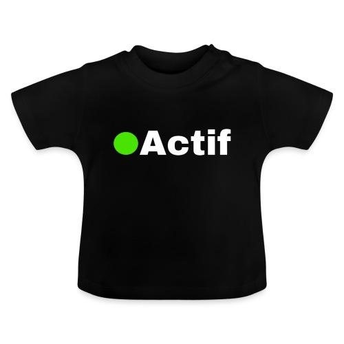 actif messenger - T-shirt Bébé