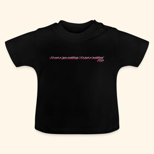 Gay wedding - Koszulka niemowlęca