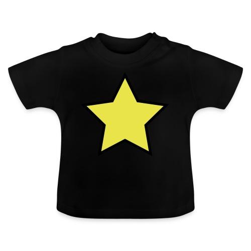 Star - Stjerne - Baby T-Shirt