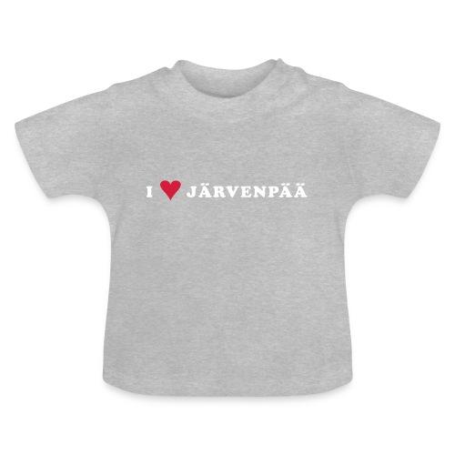 I LOVE JARVENPAA - Vauvan t-paita