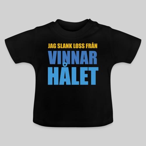 jag slank loss fran vinnarhalet - Baby-T-shirt