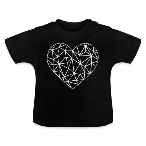 Coeur - T-shirt Bébé
