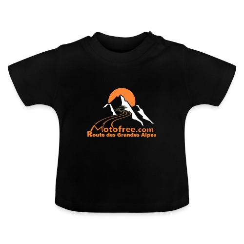 logo motofree orange - T-shirt Bébé