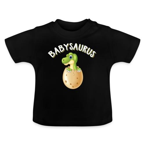 Babysaurus Vater und Kind Dinosaurier Partnerlook - Baby T-Shirt