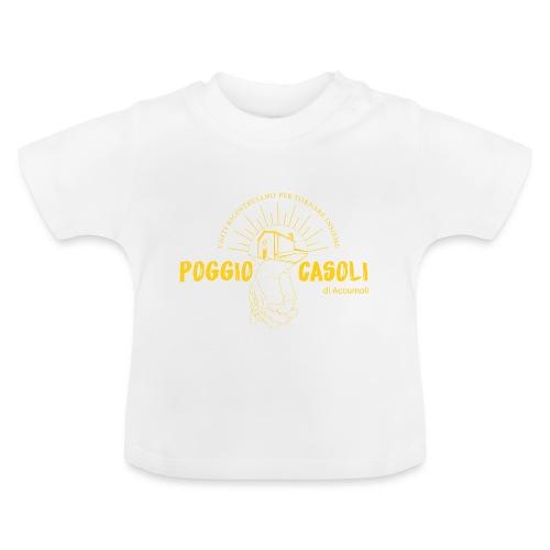 Poggio Casoli_Istituzionale_Giallo - Maglietta per neonato