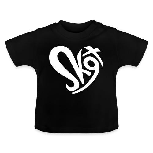 Salzkammergut Herz weiss - Baby T-Shirt