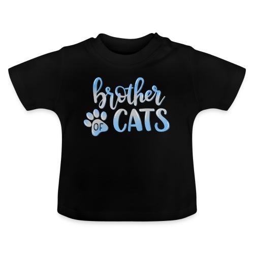 brother of cats - Baby T-Shirt