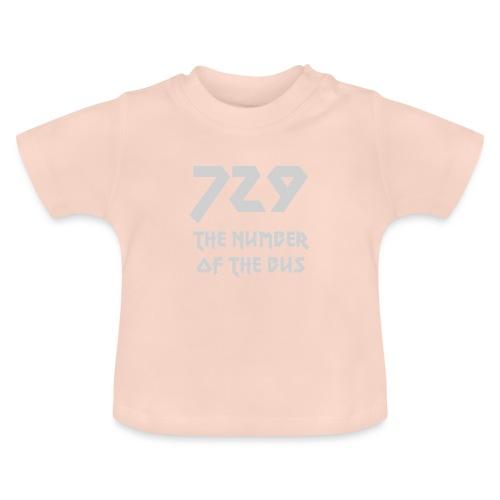 729 grande grigio - Maglietta per neonato