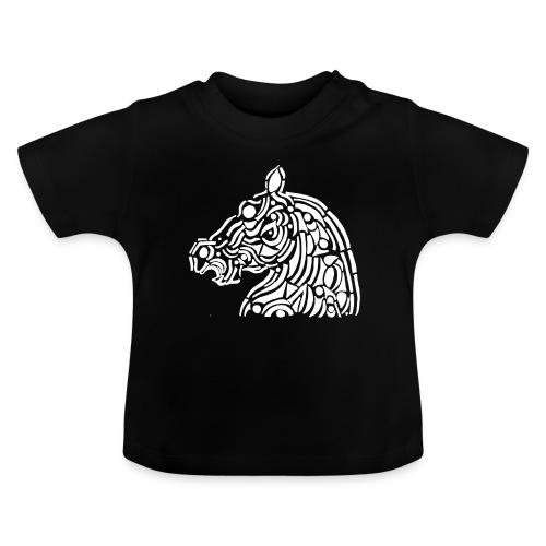 horse - cheval blanc - T-shirt Bébé