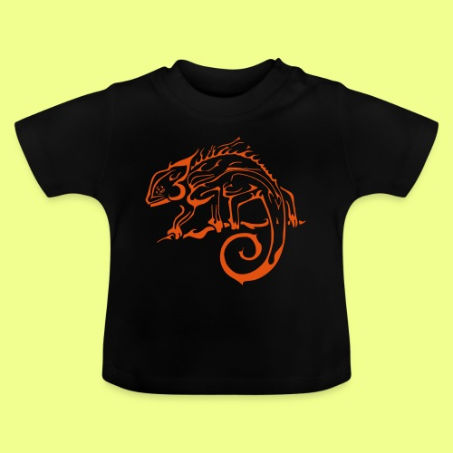 iguana - Camiseta bebé