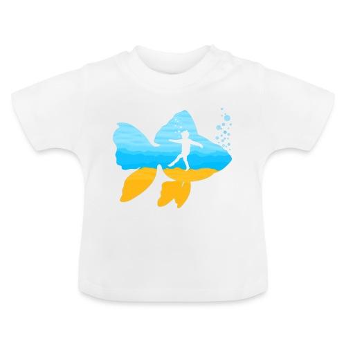 GEVOELIG VISJE - Baby T-shirt